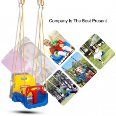 3 In 1 High Back Toddler Swing Baby Outdoor Swing Seat Seat Heavy Duty Chain Playground Swing Set GlSTE