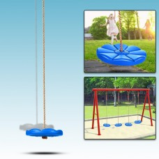 "40"" Large Size Swing Kit Outdoor Kids Round Rope Tire Tree Web Net Swing Nest Hanging Net WSY"