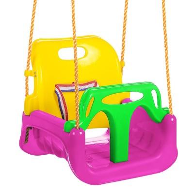 Baby Safety Swingset Children Full Bucket Seat Swing For Outside