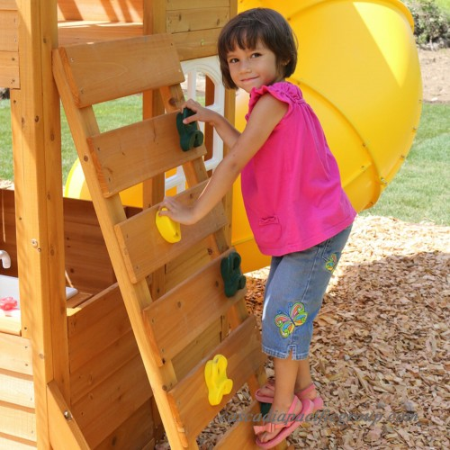 Cedar Summit Lewiston Retreat Wooden Play Set
