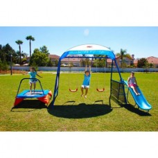 "IronKids ""Cooling Mist"" Inspiration 250XL Fitness Playground Metal Swing"