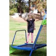 Sportspower Mountain View Metal Swing Set with Slide and Trampoline   552151742